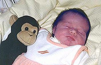 Zyanose Baby