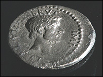 The Brutus coin, minted 42 BC