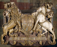 Stern carving from Royal Charles
